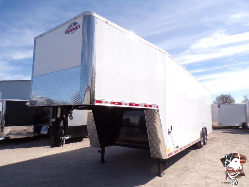 2021 Cargo Mate 8.5 x 32 Gooseneck Enclosed Cargo Trailer