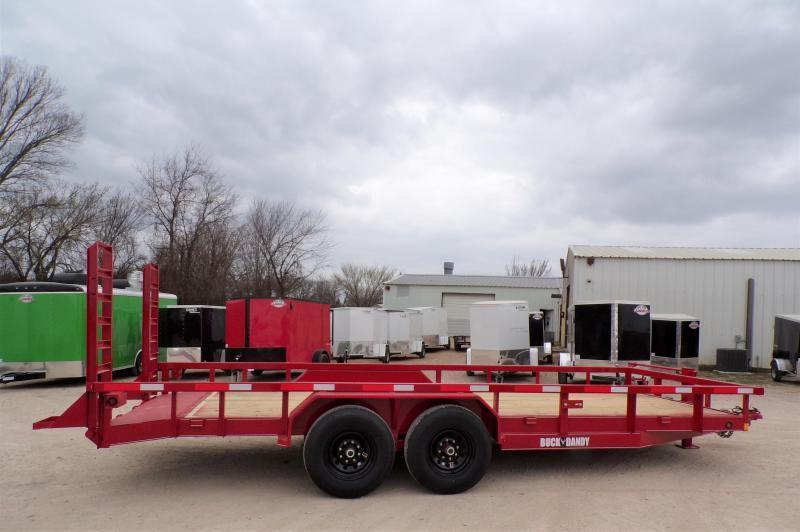 2021 Buck Dandy 83 x 20 Equipment Trailer