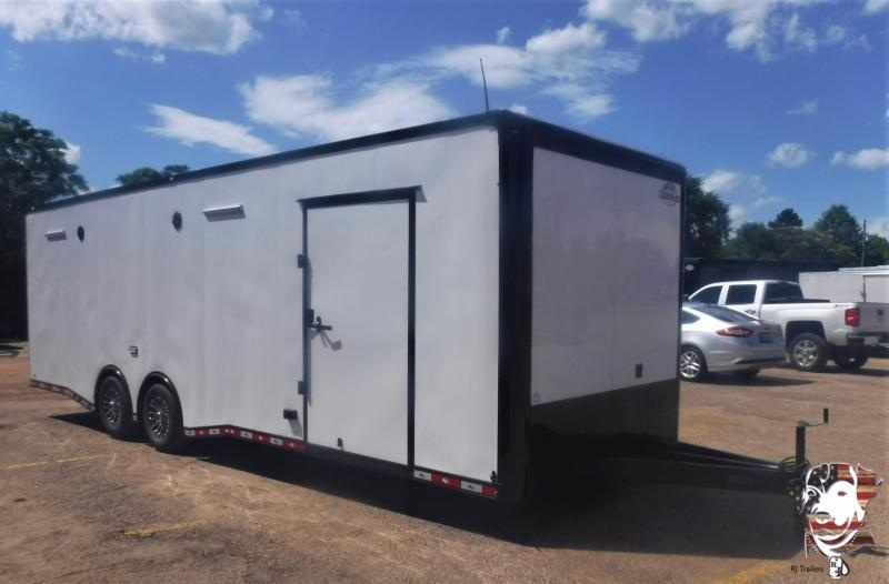 2021 Cargo Mate 8.5 x 28 NS Car / Racing Trailer