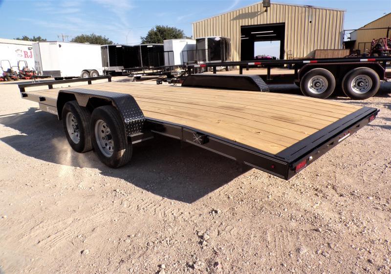 2022 TexLine 83 x 20 Deluxe Car Hauler Enclosed Cargo Trailer