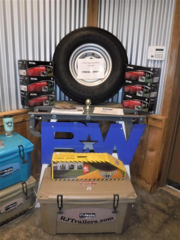 2020 Buck Dandy 72 x 12 SA Utility Trailer