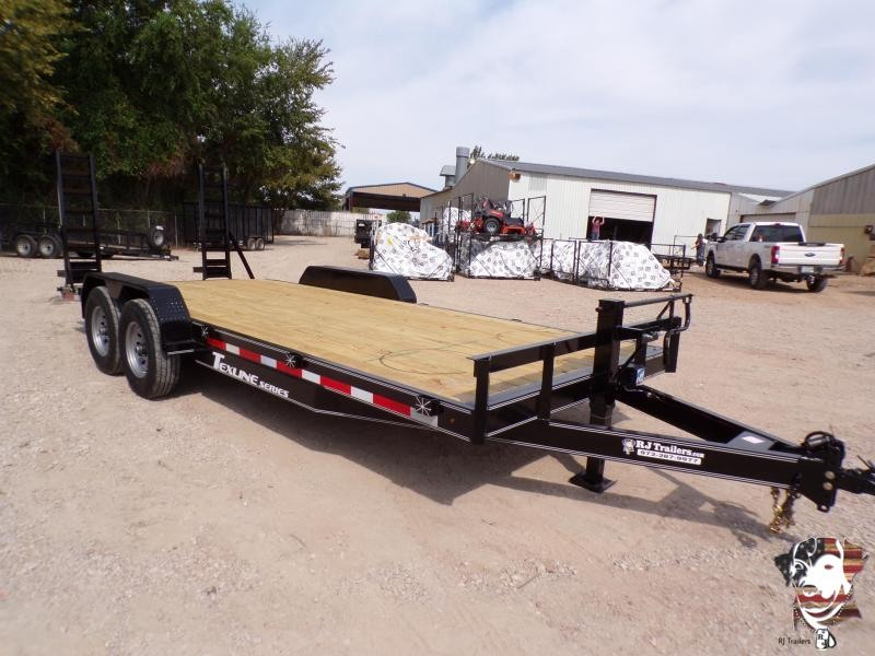2020 TexLine 83 x 20 Equipment Bobcat Trailer