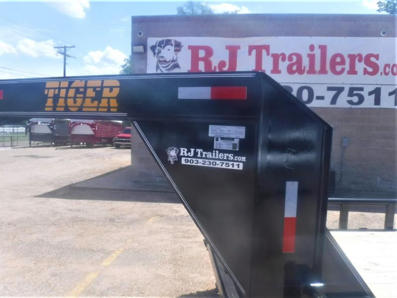 2020 Tiger 83 x 20 Gooseneck Equipment Trailer