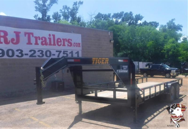 2020 Tiger 83 x 20 Gooseneck Equipment Trailer