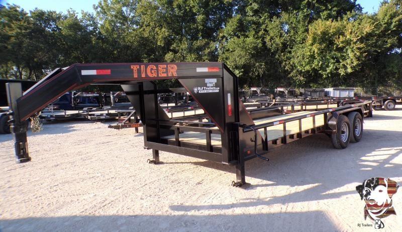 2021 Tiger 83 x 20 Equipment Trailer