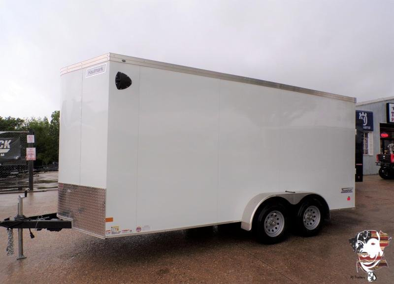 2021 Haulmark 7 x 16 Transport Enclosed Cargo Trailer