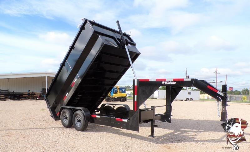 2021 Texas Pride Trailers 82 x 14 Telescopic Gooseneck Dump Trailer