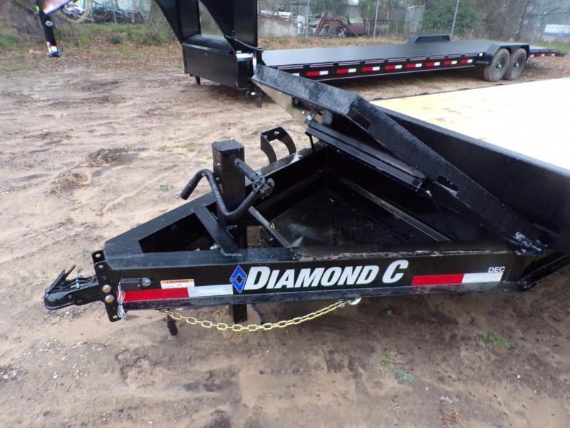 2021 Diamond C Trailers 102 x 24 DEC207 Equipment Trailer