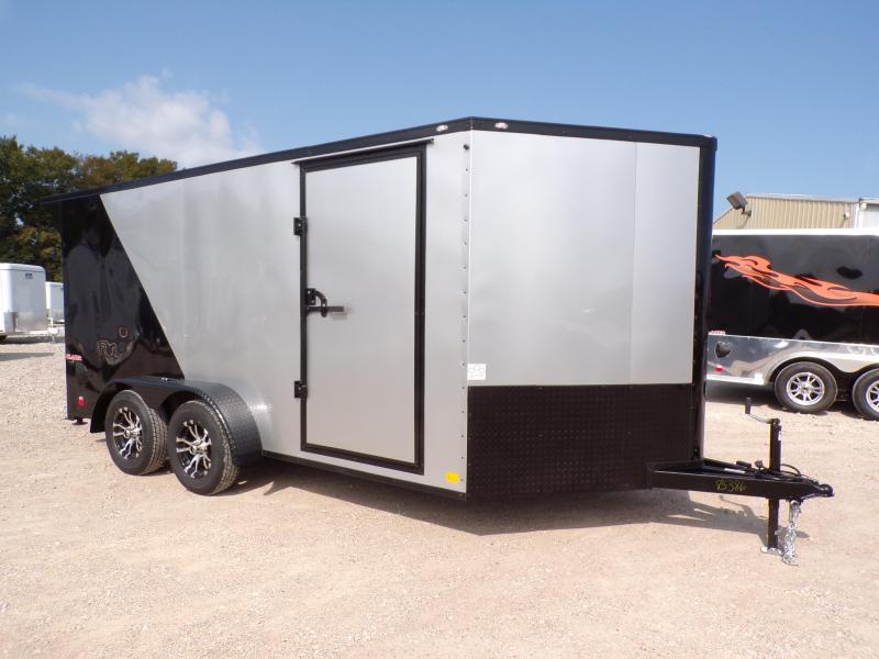 2021 Cargo Mate 7 x 14 Blazer Low Hauler Motorcycle Trailer