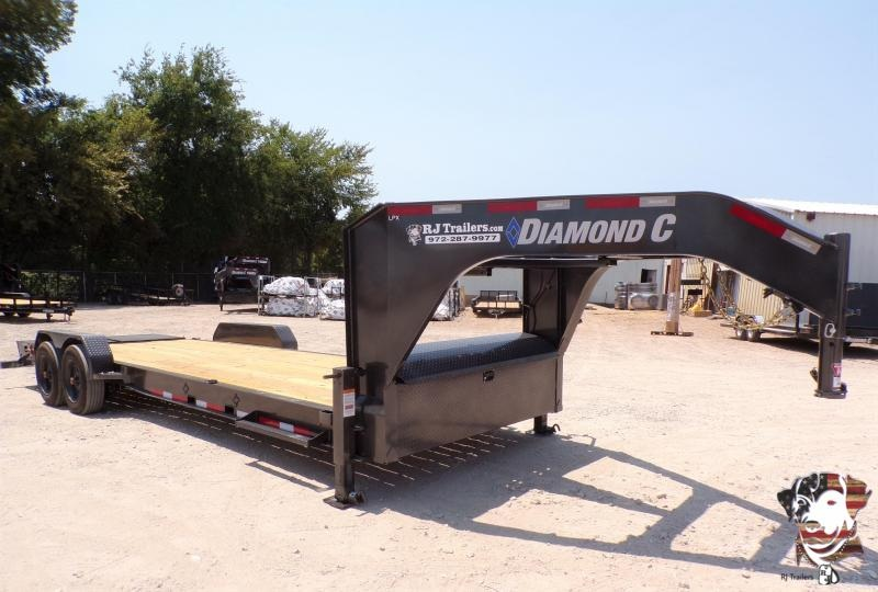 2020 Diamond C Trailers 82 x 20 LPX208 GN Equipment Trailer