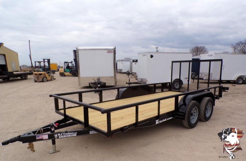 2021 Texline 77 x 16 TA Patriot Utility Trailer