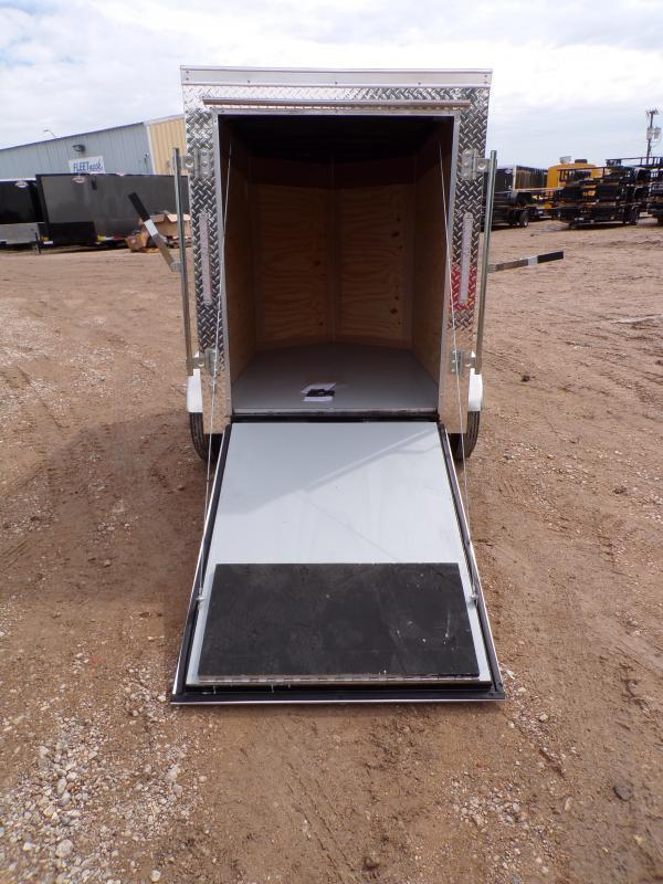 2021 Cargo Mate 4 x 6 E-series Enclosed Cargo Trailer