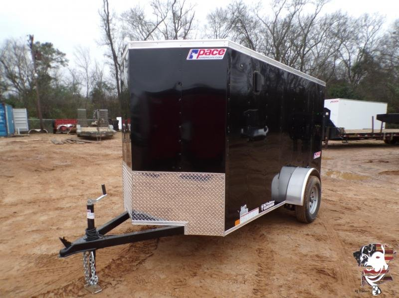 2021 Pace American 5 x 10 Journey Cargo Trailer