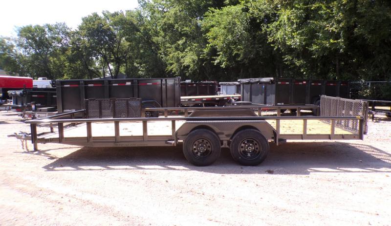 2021 TexLine 83 x 20 Stealth Equipment Trailer