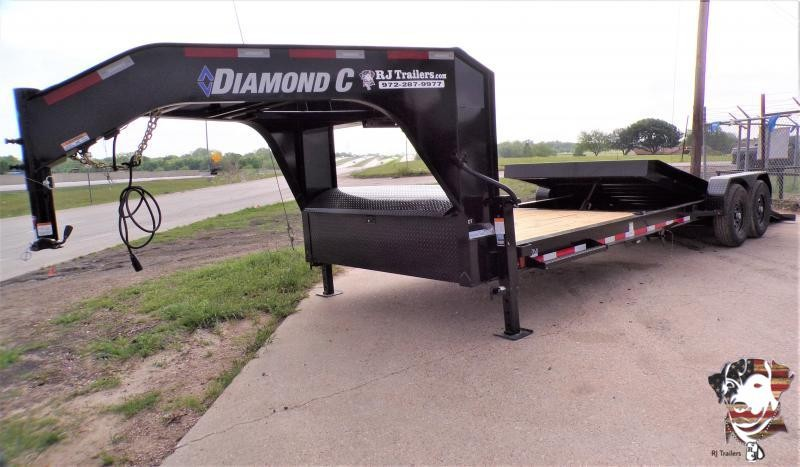 2021 Diamond C Trailers 82 x 24 HDT 207 Equipment Trailer