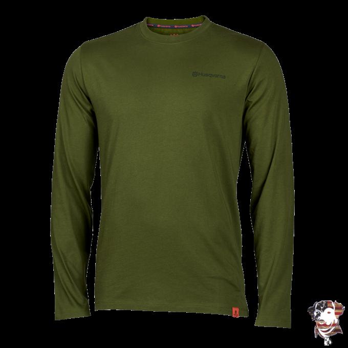 2021 Husqvarna Xplorer Apparel Collection Trad LS T-Shirt