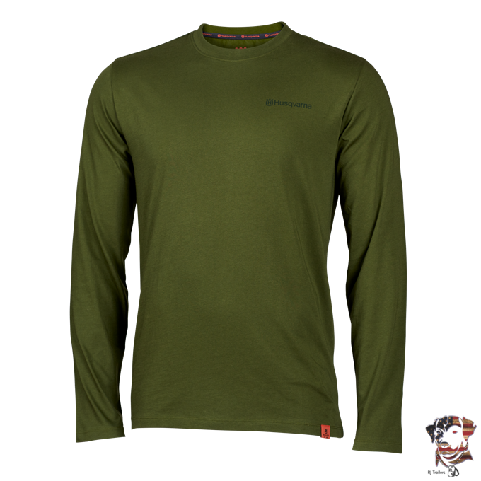 2021 Husqvarna Xplorer Apparel Collection Trad LS T-Shirt