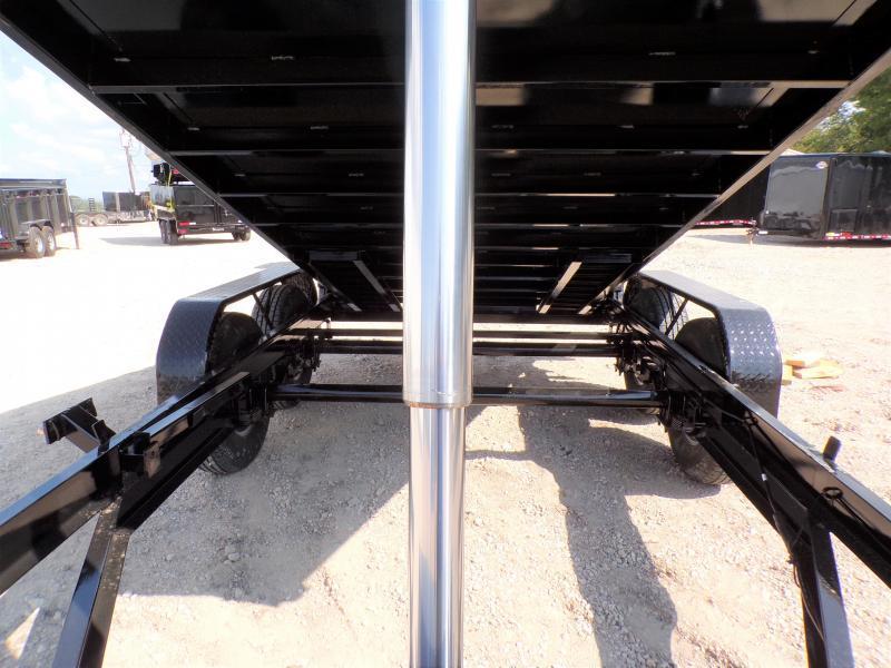 2020 Texas Pride Trailers 84 x 14 BumperPull Telescopic Dump Trailer