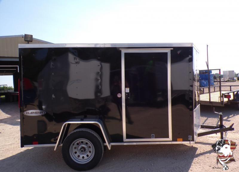 2022 Look Trailers 5 x 10 Element Enclosed Cargo Trailer