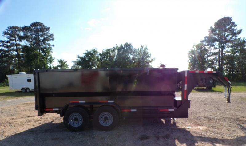 2021 Texas Pride Trailers 82 x 14 Gooseneck Dump Trailer
