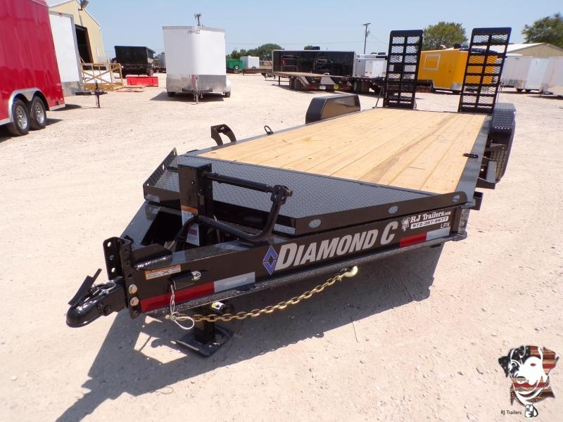 2021 Diamond C 82 x 20 LPX207 Equipment Trailer