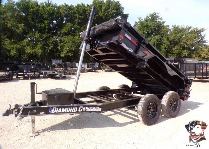 2021 Diamond C Trailers 60 x 10 GDT 235L Dump Trailer