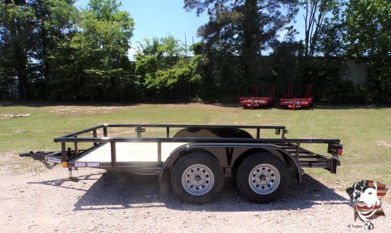 2021 Buck Dandy 77 x 12 Big Buck TA Utility Trailer