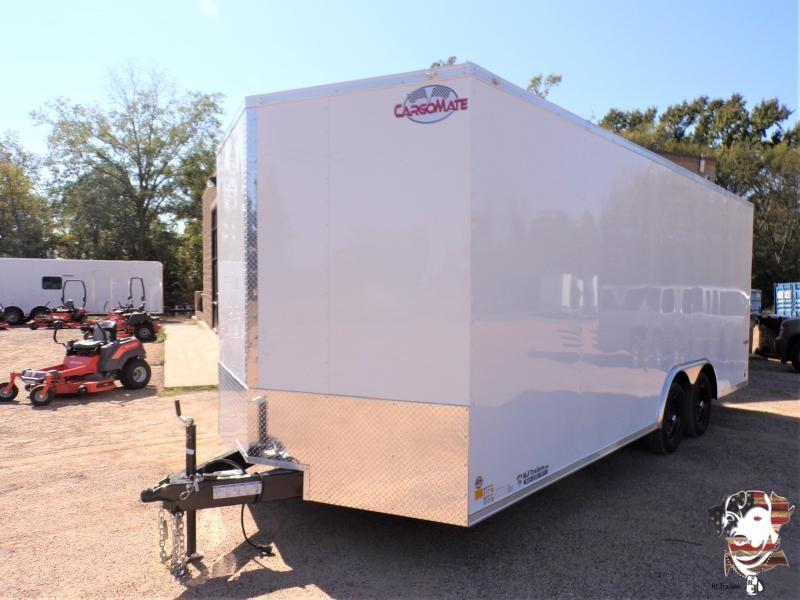 2022 Cargo Mate 8.5 x 20 Car / Racing Trailer