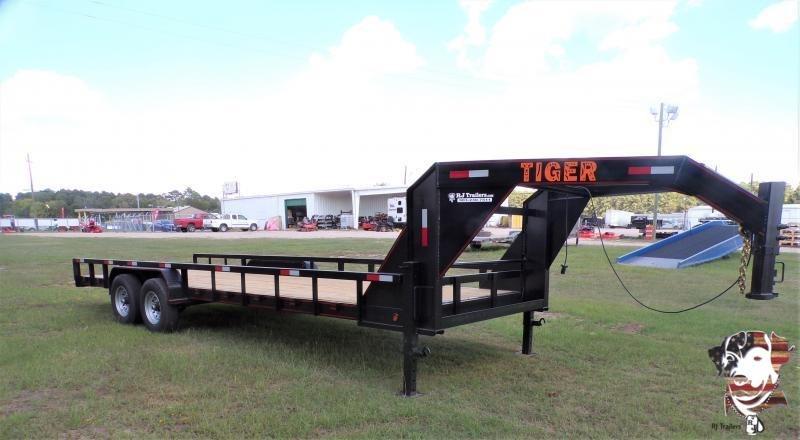 2021 Tiger 83 x 20 Lowboy Equipment Trailer