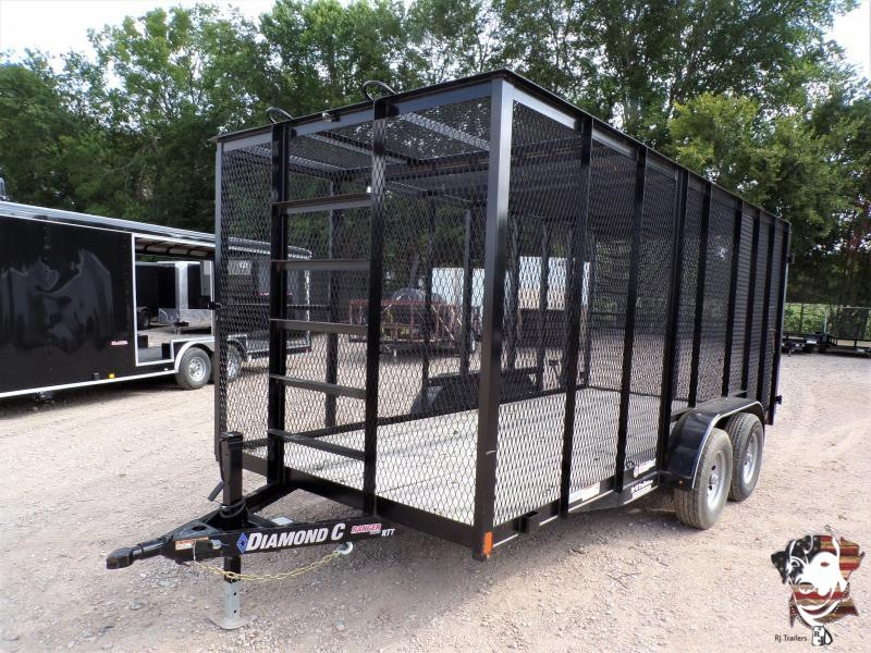 2018 Diamond C Trailers 83 x 16 RTT Trash Utility Trailer