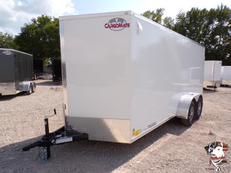 2021 Cargo Mate Steel 7x 16 Enclosed Cargo Trailer