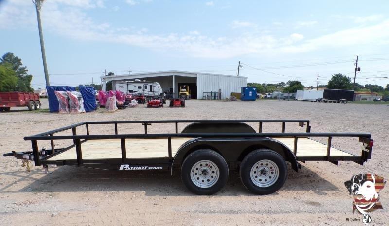 2021 TexLine 77 x 16 Patriot Utility Trailer