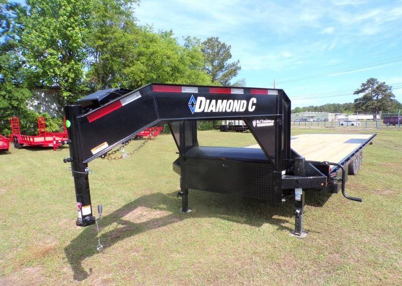 2021 Diamond C Trailers 102 x 26 DET 207 Equipment Trailer