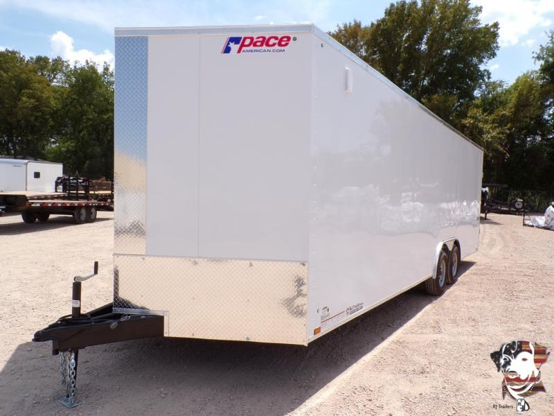 2021 Pace American 8.5 X 24 Journey SE Enclosed Cargo Trailer