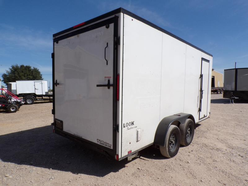 2020 Look Trailers 7 x 16 Element SE Landscape Enclosed Cargo Trailer