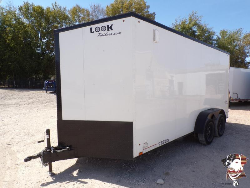2020 Look Trailers 7 x 16 Element SE Landscape Enclosed Cargo Trailer