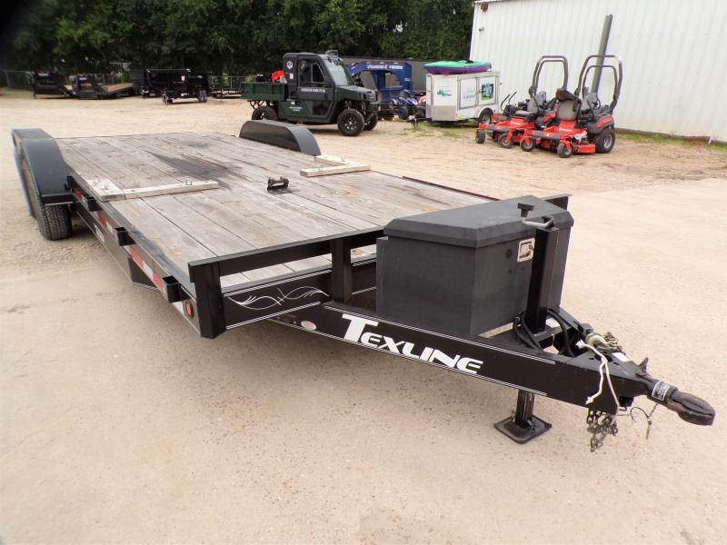 2015 TexLine 83 x 22 Car Hauler / Racing Trailer