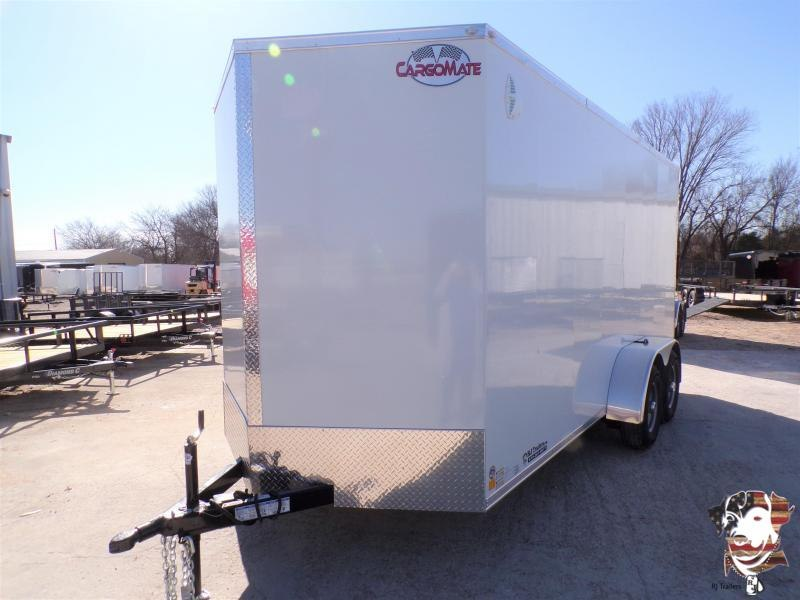 2022 Cargo Mate Cell Tech 7 x 16 Enclosed Cargo Trailer