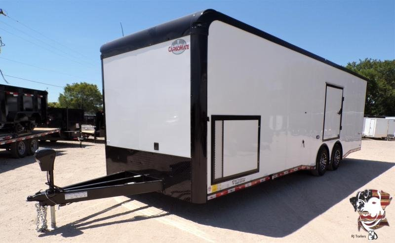 2021 Cargo Mate 8.5 x 28 Eliminator Car / Racing Trailer