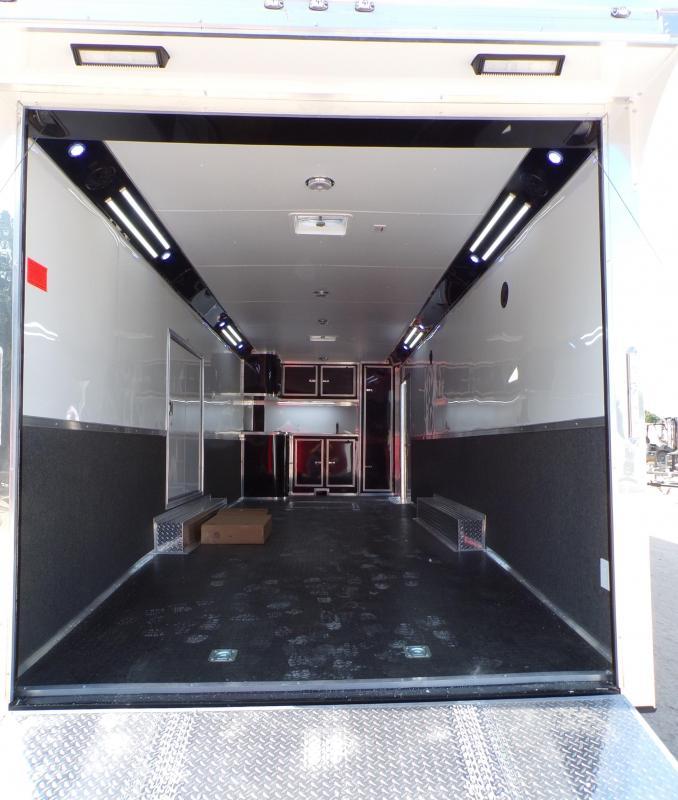 2021 Cargo Mate 8.5 x 28 Eliminator Car / Racing Trailer