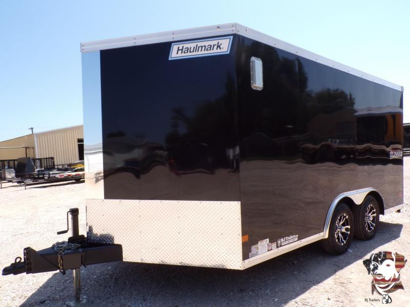 2020 Haulmark 8.5 x 14 Grizzly Motorcycle Trailer