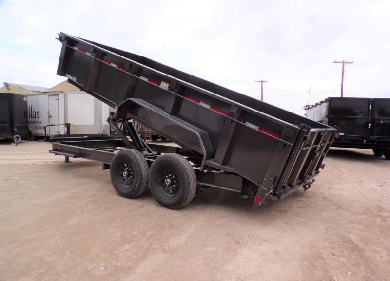 2022 Diamond C Trailers 82 x 16 LPD 207 Dump Trailer