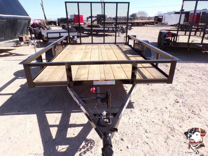2021 Buck Dandy 77 x 10 Little Buck SA Utility Trailer