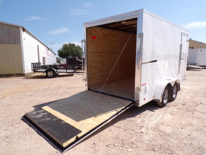 2021 Continental Cargo 7x14 E-Series Enclosed Cargo Trailer