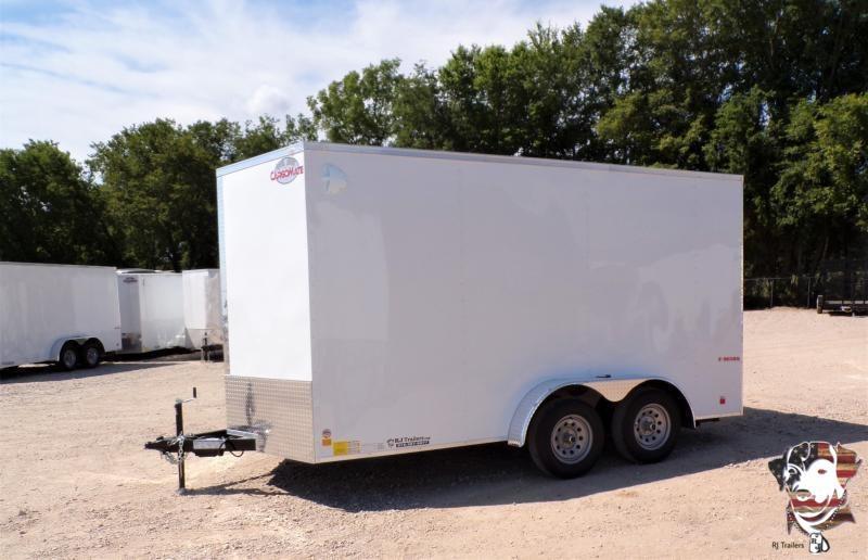 2021 Continental Cargo 7x14 E-Series Enclosed Cargo Trailer
