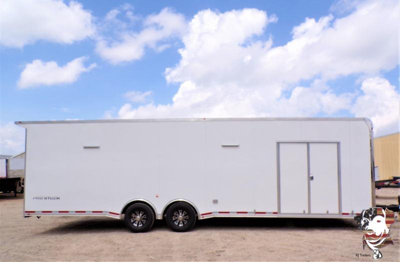 2021 Vintage 8.5 x 30  Pro Stock Series Racing Trailer