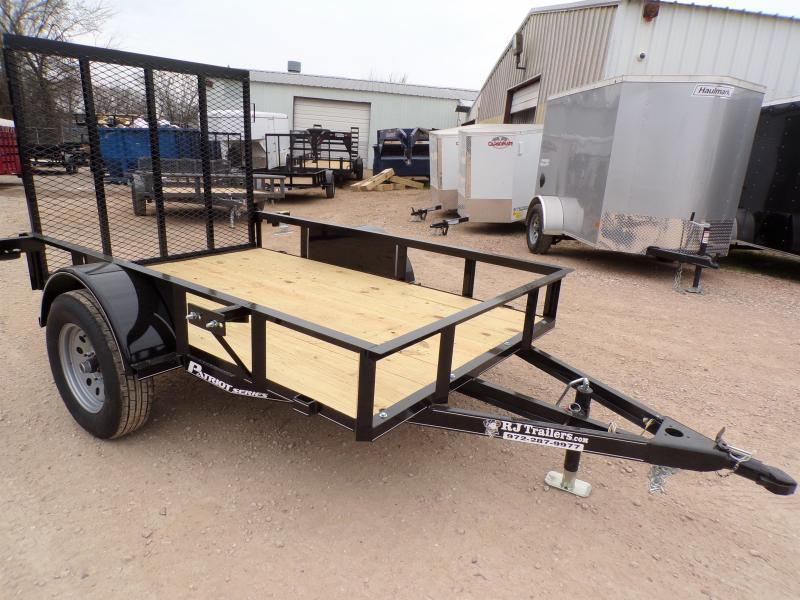 2020 TexLine 5 x 8 Patriot Utility Trailer