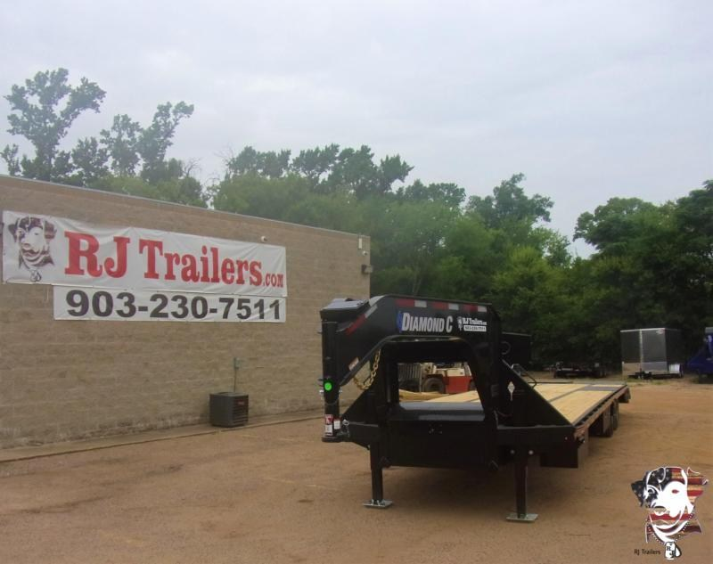 2020 Diamond C Trailers 102 x 40 Fmax 212 Goose-neck Flatbed Trailer