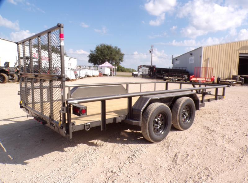 2021 Buck Dandy 83 x 16 Big Buck Utility Trailer