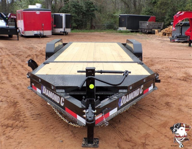 2021 Diamond C Trailers 82 x 20 HDT 207 Tilt Equipment Trailer